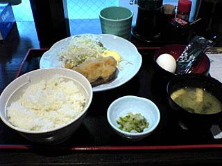 週替り定食(おろしハンバーグ)