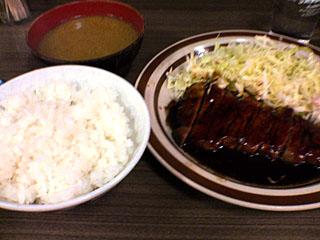 生姜焼定食