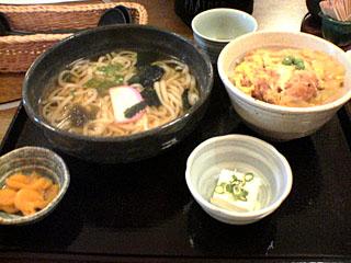 小カツ丼定食