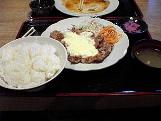 手作りチキン竜田タルタルソース