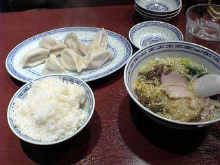 上海水餃子セット+ライス