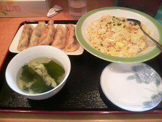 餃子・炒飯定食