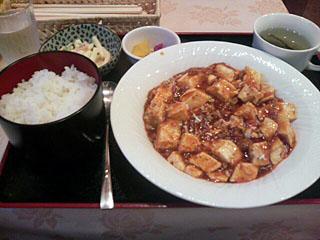 四川マーボ豆腐