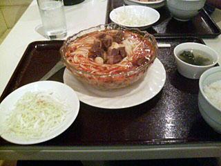 四川風牛肉麺