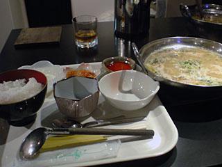 参鶏湯ランチセット