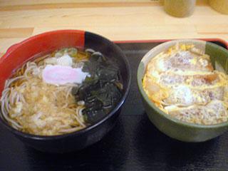 ミニカツ丼セット