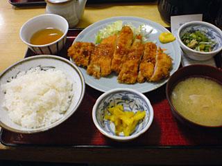 チキンカツ定食